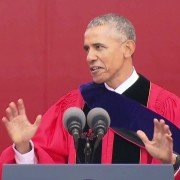 President Obama Mocks Donald Trump At Rutgers University