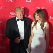 Donald And Melania Trump Dazzle Celebrity Crowd At Time 100 Gala