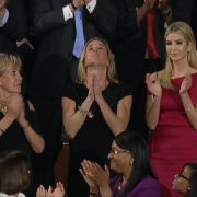 President Trump And An Emotional Moment With Carryn Owens