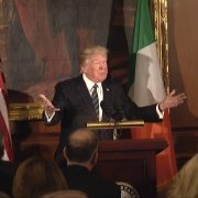 President Trump Speaks At The 'Friends of Ireland' Lunch