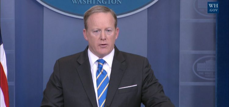 Sean Spicer on Russia Investigation, Dinner With Comey and White House Recordings