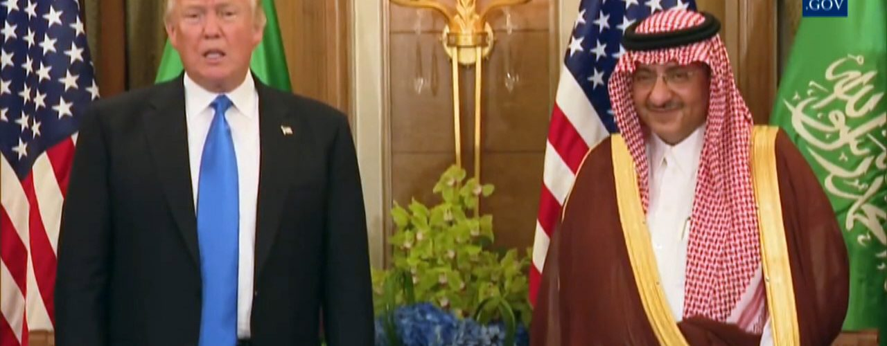 President Trump Thanks The Kingdom of Saudi Arabia
