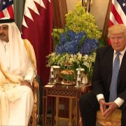 President Trump and The Emir of Qatar