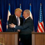 President Trump And Prime Minister Netanyahu Share The Love Together