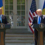 President Trump Calls Comey A 'Leaker'