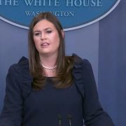 Sarah Huckabee Sanders Argues Russia Collusion Story Is Phony