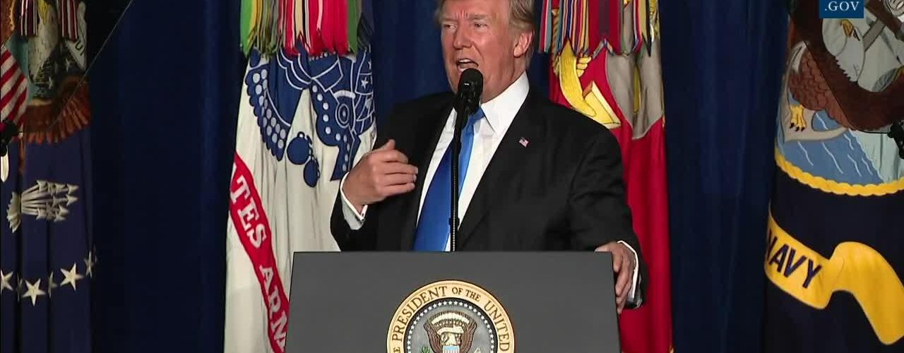 "President Trump: ""We Will Fight To Win, We Will Fight To Win"""