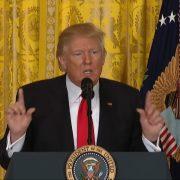 President Trump Says He Didn't Divide America