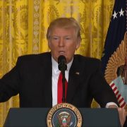 President Trump Enjoys A Question About Melania Trump