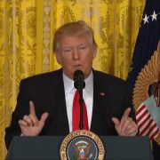 President Trump Answers An Immigration Question From A PBS Reporter