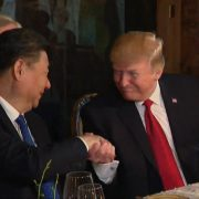 President Trump And First Lady Dine With The President of China