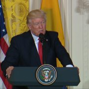 President Trump Is Asked If Special Counsel Is A Witch Hunt