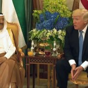 President Trump Has a Very Friendly Meeting With The Emir Of Kuwait