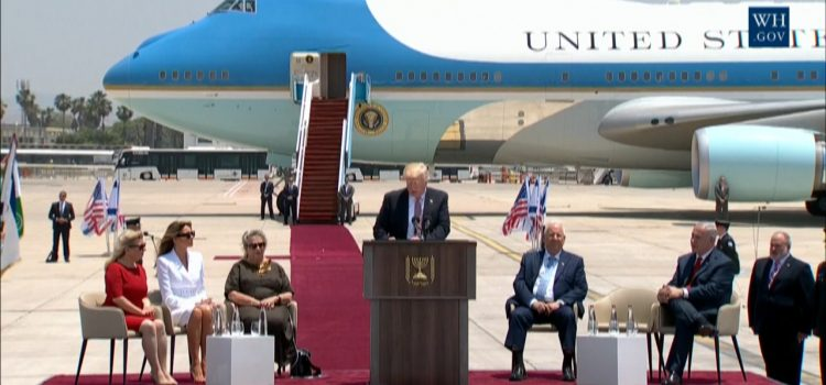 President Trump Remarks At Arrival Ceremony In Israel