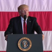 President Trump Takes The Fight To Naval Air Station Sigonella
