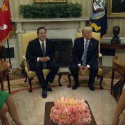 President Donald J. Trump Meets With President Juan Carlos Varela of Panama