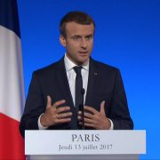 President Macron Speaks About Climate Accord and Trump Friendship