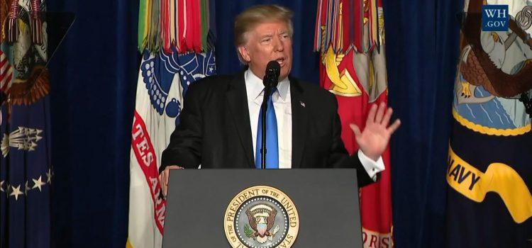 Trump: 20 Terrorist Organizations In Afghanistan and Pakistan