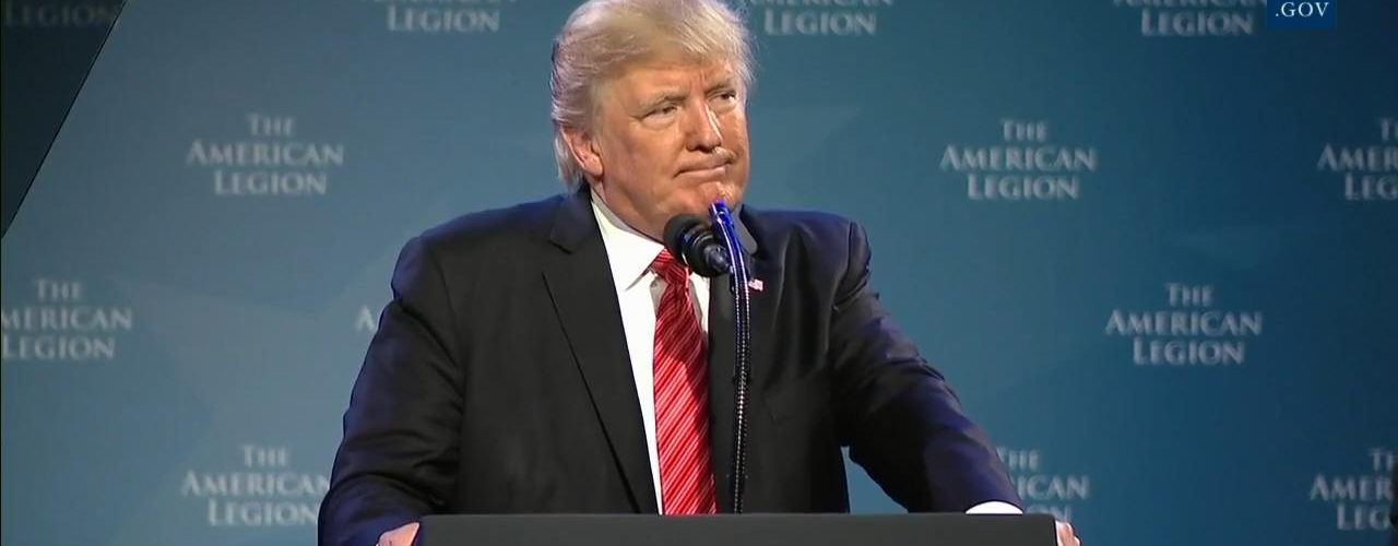 """President Trump: """"We Are People Who Love"""""""
