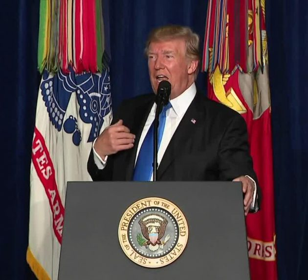 """President Trump: """"We Will Fight To Win, We Will Fight To Win"""""""