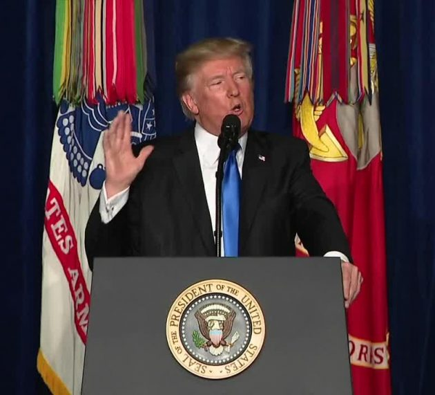 """Trump: """"Micromanagement From Washington DC Does Not Win Battles"""""""